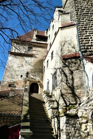 Bran Castele, the main entrance